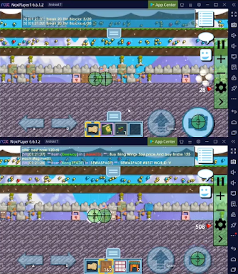 Cara Auto Put Break Banyak Bot PC/Laptop di Growtopia 100%