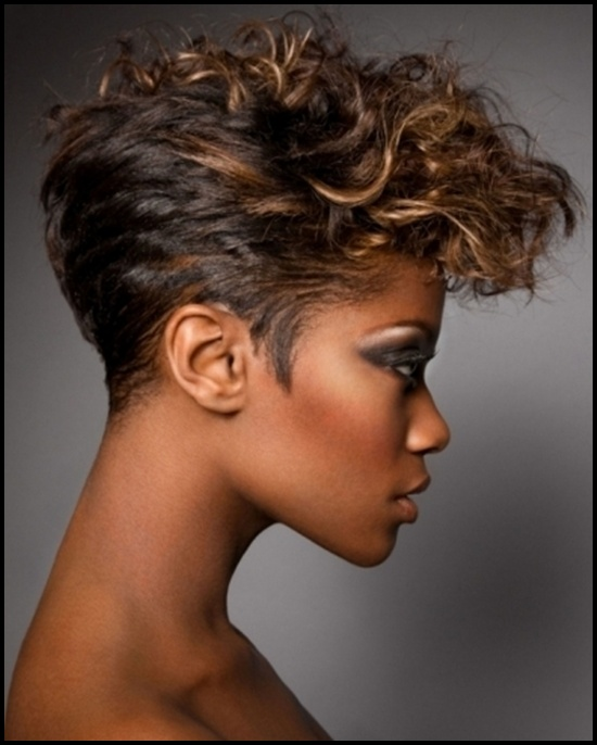 Fine 60 Short Curly Hairstyles For Black Woman Stylishwife Short Hairstyles For Black Women Fulllsitofus