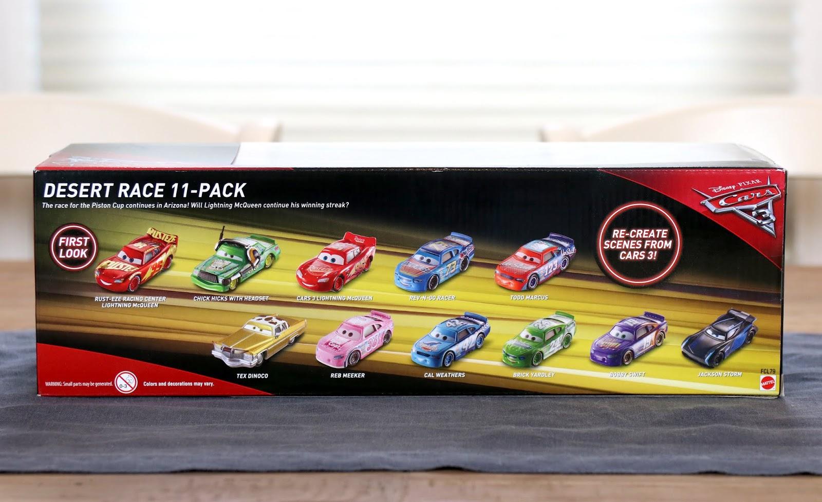 Cars 3 Desert Race 11-Pack