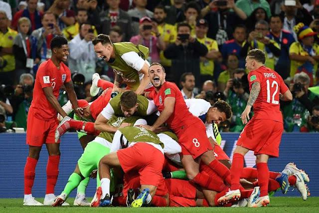 Prediksi Bola Kroasia vs Inggris Semifinal Piala Dunia 2018
