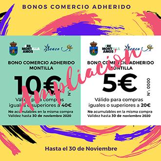 AYUNTAMIENTO DE MONTILLA - BONOS COMERCIO