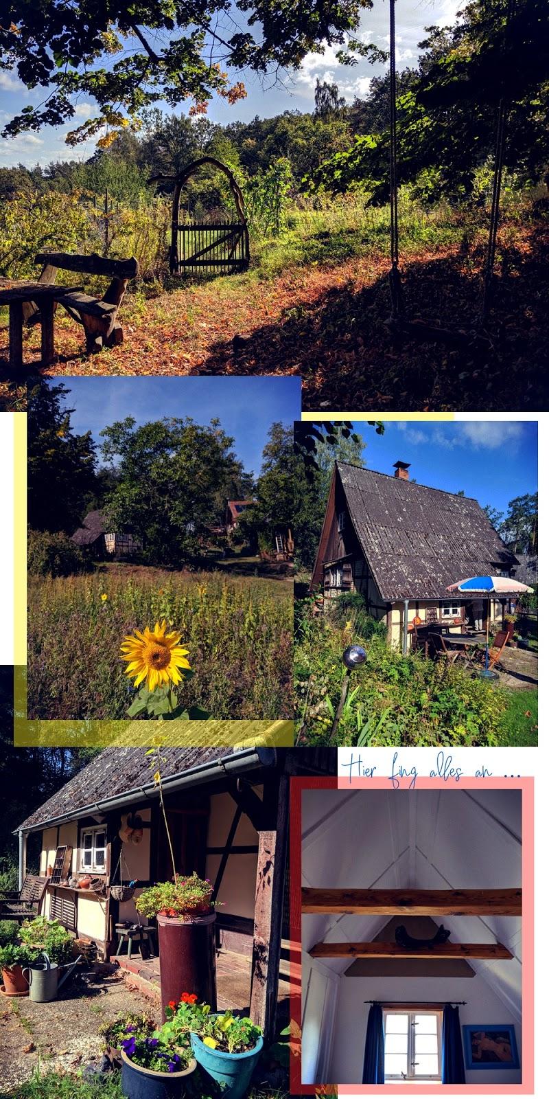 Wie alles begann: Auf dem Höhbeck, dem ersten Haus der Voelkels. Auf dem Hanffeld & dem Bernstorffschen Gut.
