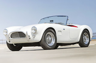 1965 White Shelby Cobra Special Car