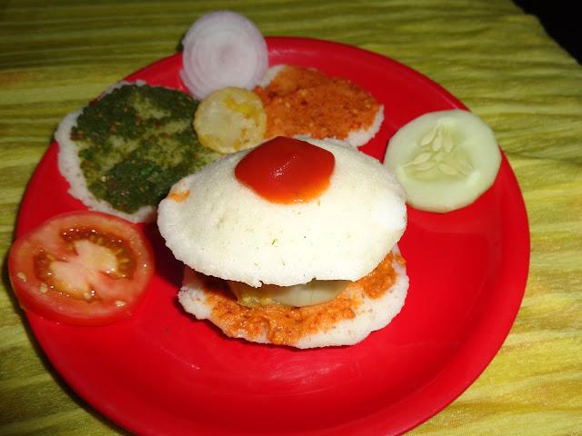 mini idly burger