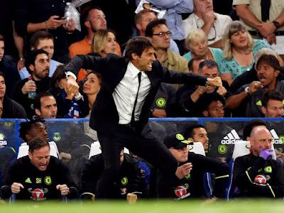 Situs Maxbet Online Terbesar Indonesia - Selebrasi Conte Bangkitkan Gairah Fans Chelsea di Stamford Bridge