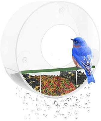 Birdious Tube Window Bird Feeder – The Best Feeder to Attract Multiple Breeds of Birds