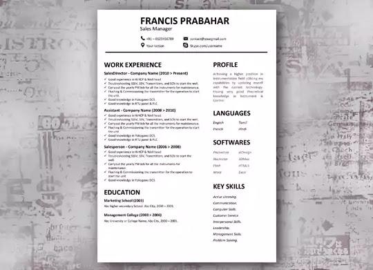 Freshly - Fresher Resume Template