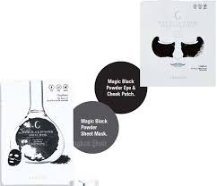 Caolion Magic Black Powder Sheet Mask