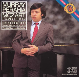 Murray Perahia – Mozart: Three Concertos for Piano and Orchestra, K. 107