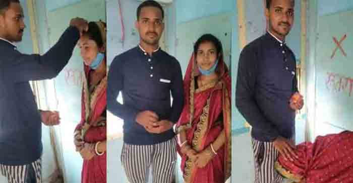 Lover filled sindoor in mang of a married woman In front of toilet in running train, Bihar, News, Religion, Marriage, Social Media, Train, Criticism, National