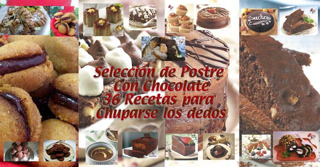 36 Recetas de Chocolate