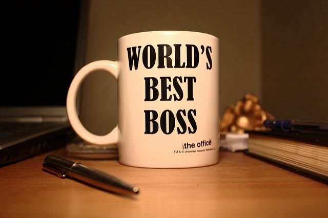 best boss, cup