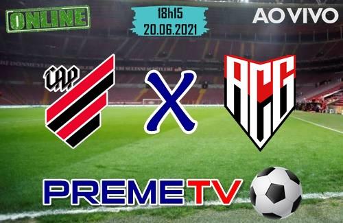 Athletico-PR x Atletico-GO Ao Vivo