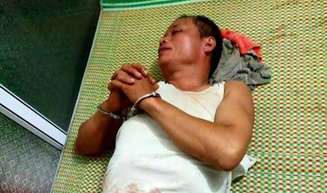Nguyễn Văn Tiến bị bắt giữ