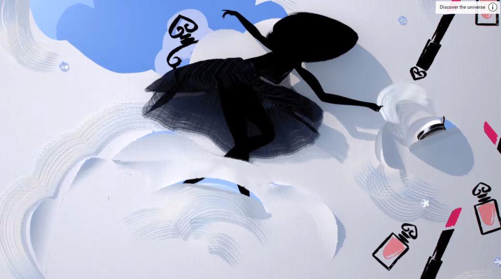 Pubblicità Guerlain profumo La Petite Robe Noire 2016