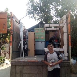 Dok Sewa Truk cdd engkel PindahanTangerang ke Jogja