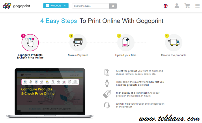 Cheap High Quality Business Card With Gogoprint Online Website