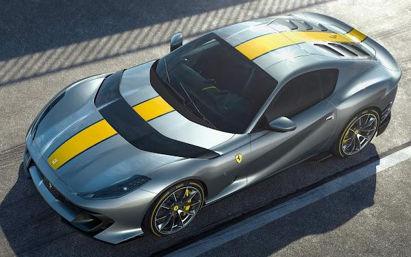 Ferrari 812 Superfast Versione Especiale relevada na Itália - fotos