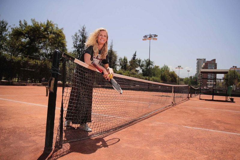 Catalina, la hija de Jaime Fillol que trae de vuelta un ATP a Chile