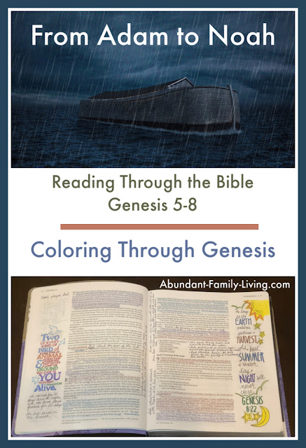 Coloring Through Genesis