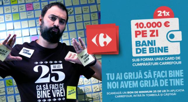 Concurs Carrefour - Bani de Bine - concursuri - online