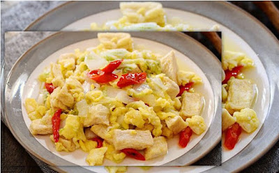 Masakan apa yang paling praktis dan simpel Resep Mudah Telur Orak-Arik Sawi Putih Spesial