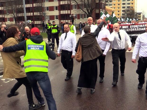 Neonazistas suecos ganham força