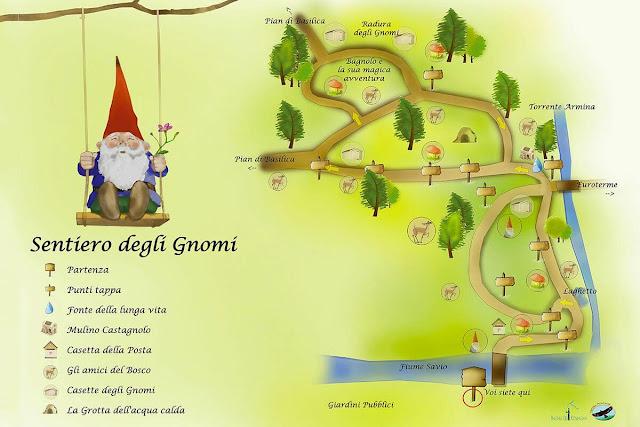Il Sentiero degli Gnomi a Bagni di Romagna - Travel Blog Viaggynfo