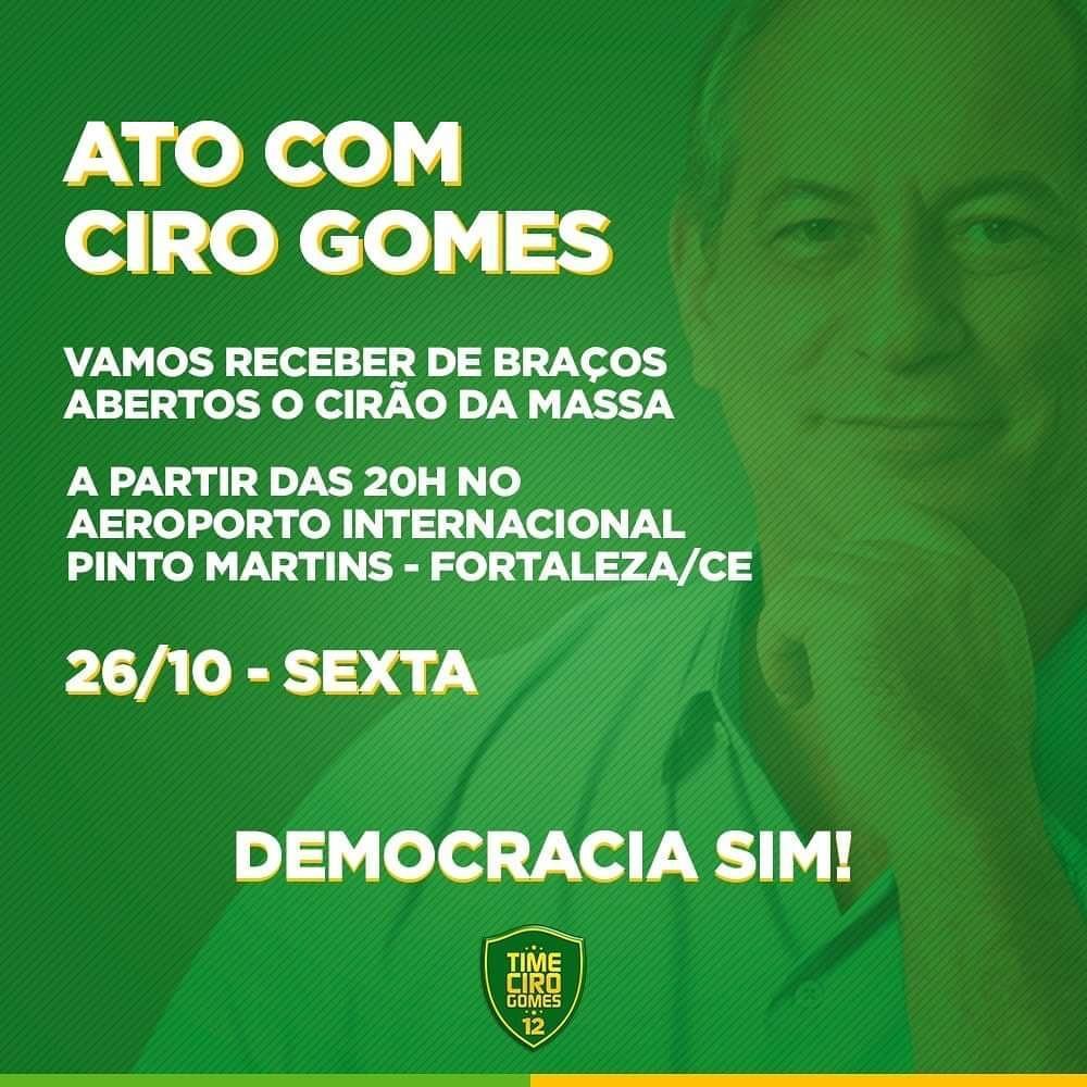 4d0401b2f Cercada de grande expectativa a chegada nesta sexta-feira (26), às oito da  noite, no aeroporto internacional Pinto Martins, em Fortaleza, ...