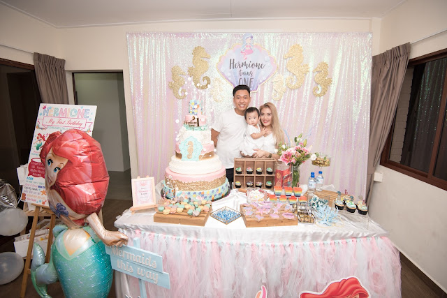Shanel Kihls Hermiones 1st Birthday Party