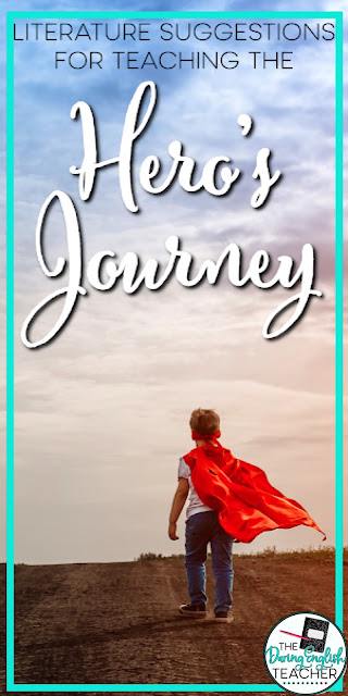 What to Read When Teaching the Hero's Journey