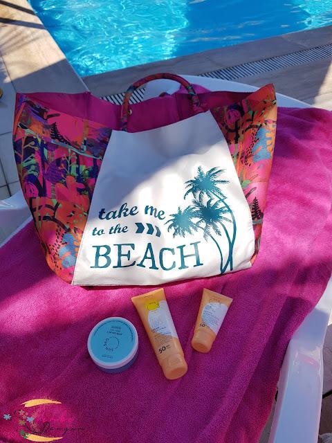 Oriflame plaj çantası
