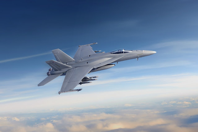 Boeing receives U.S. Navy multiyear contract for F/A-18 Block III Super Hornet