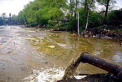 Poluição da Água
