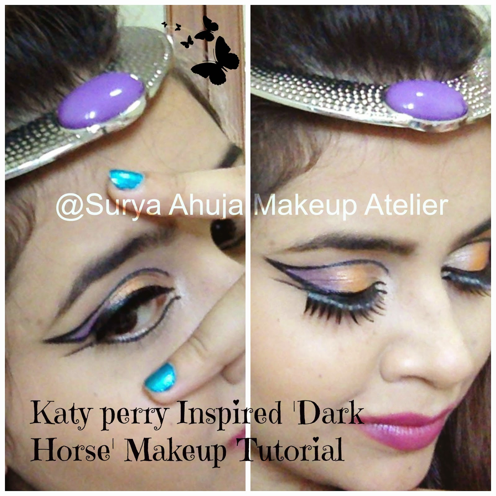 Katy Perry - Dark Horse - Makeup Tutorial - YouTube |Katy Perry Dark Horse Makeup