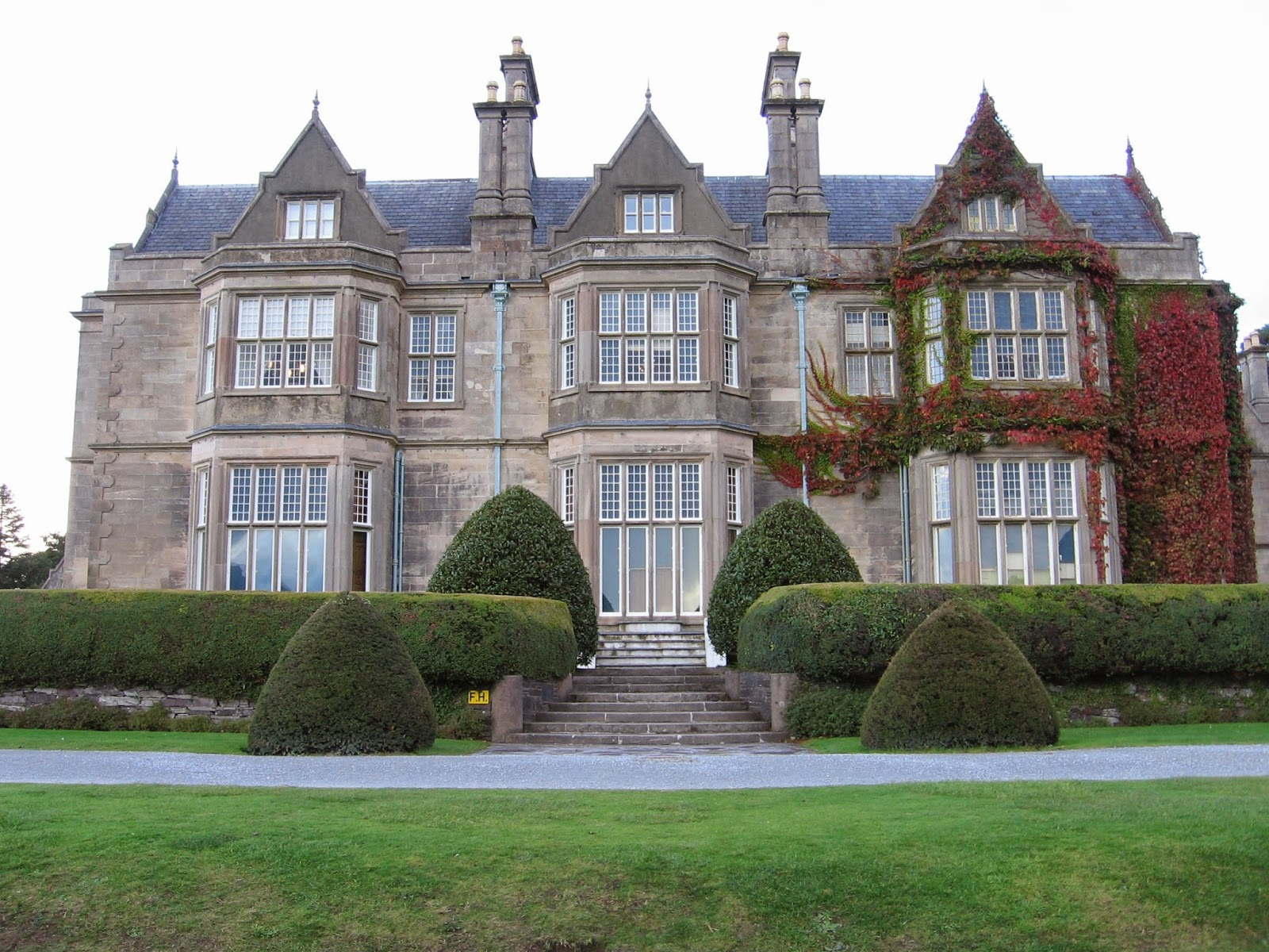 Muckross House in Killarney National Park in Ireland