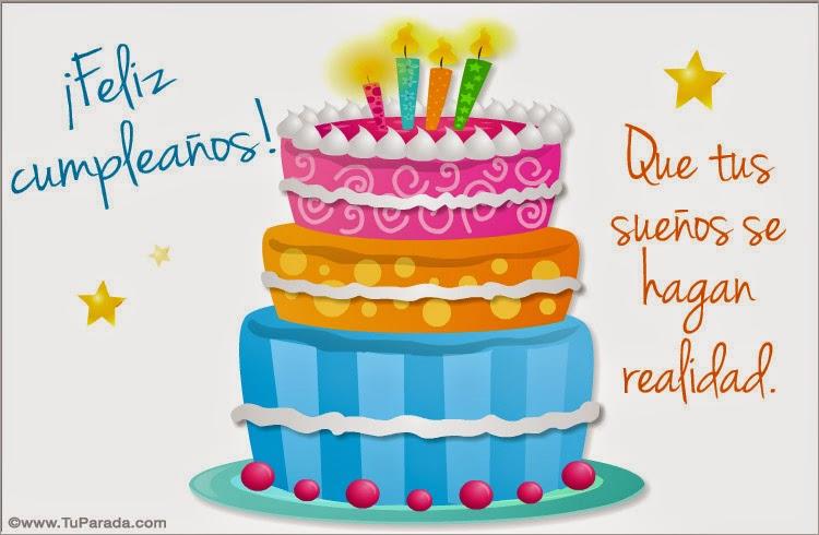 Imagenes con frases de cumpleaños para facebook