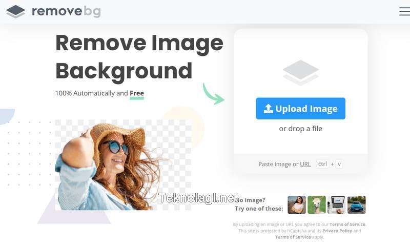 Cara Hapus Background Foto Online, Cepat, dan Gratis (remove.bg)