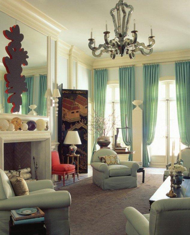 Modern Curtain Ideas for Living Room! RR Interiors