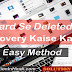 Memory Card Se Deleted Data Videos Photos Recover Kaise Kare