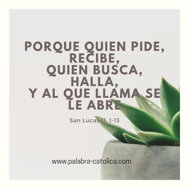 Evangelio Del Día Sabado 27 De Julio Lectura Y Salmo De
