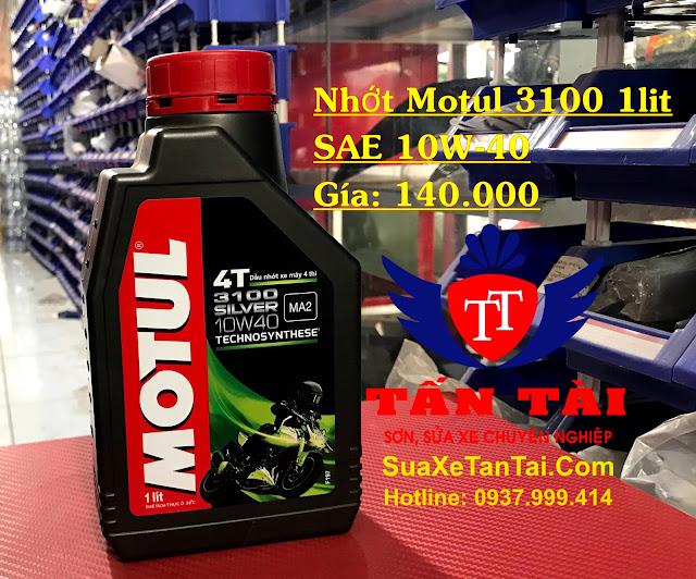 5 loại dầu nhớt cho xe tay ga phổ biến trên thị trường