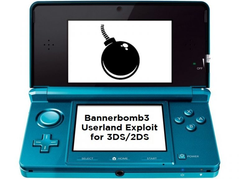 First Userland Exploit for 3DS, Bannerbomb 3 Out Now!