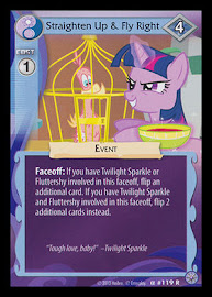 MLP Straighten Up & Fly Right Premiere CCG Card