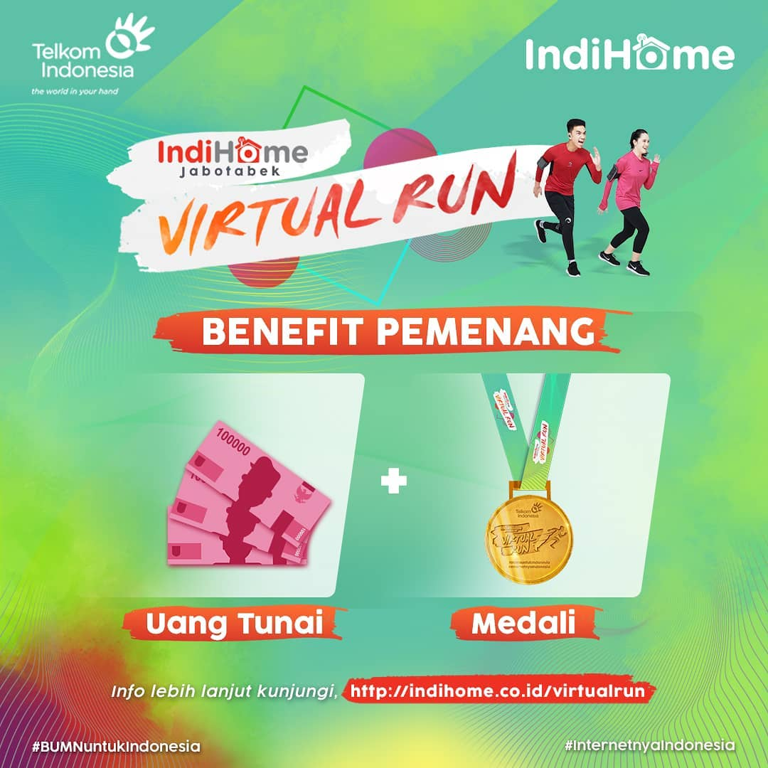 IndiHome Jabotabek Virtual Run • 2021