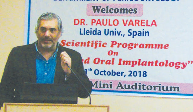 Organizing Seminar and Workshop at Sudha Rustagi College of Dental Science and Research, Faridabad