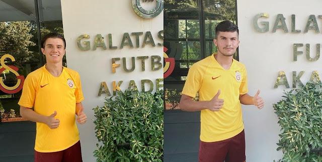 Akademiye iki yeni transfer!