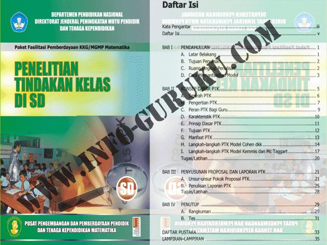 Download Contoh  PTK ( Penelitian Tindakan Kelas ) Untuk Sekolah Dasar