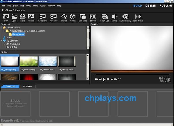 Download Proshow Producer - Phần mềm làm video, slideshow từ ảnh đẹp b