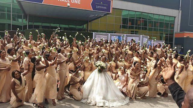 Sandra Ikeji's 200 Bridesmaid